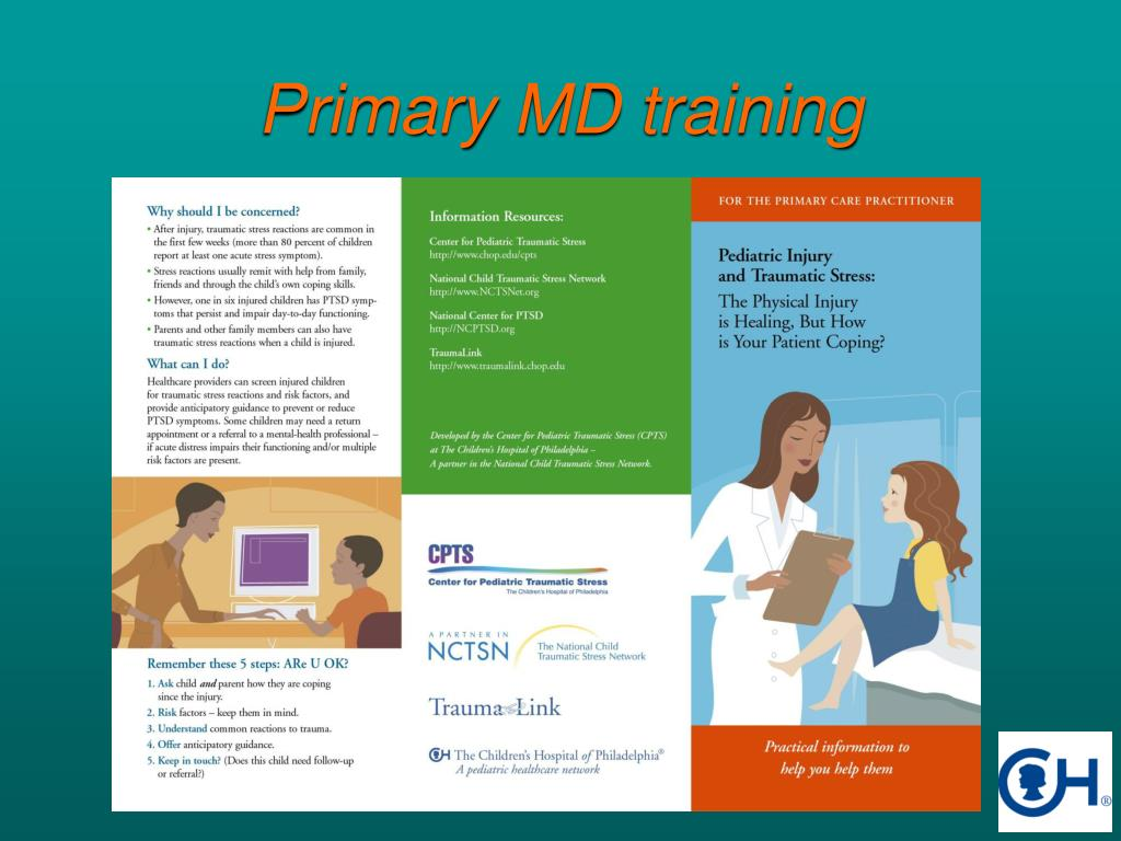 Primary MD training