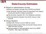 state county estimates
