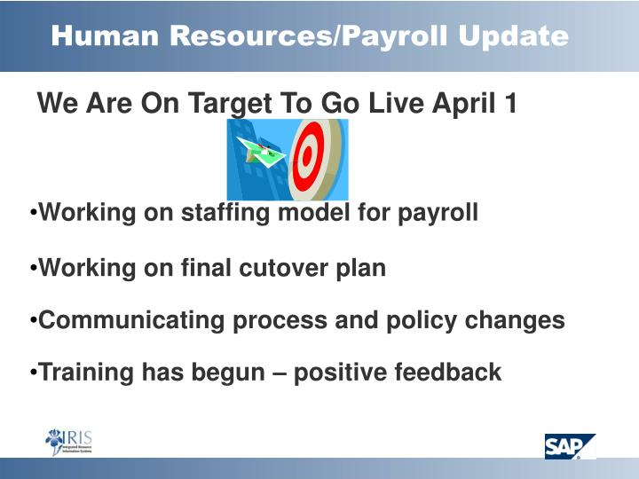 Human resources payroll update l.jpg