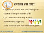 why work with ctdi
