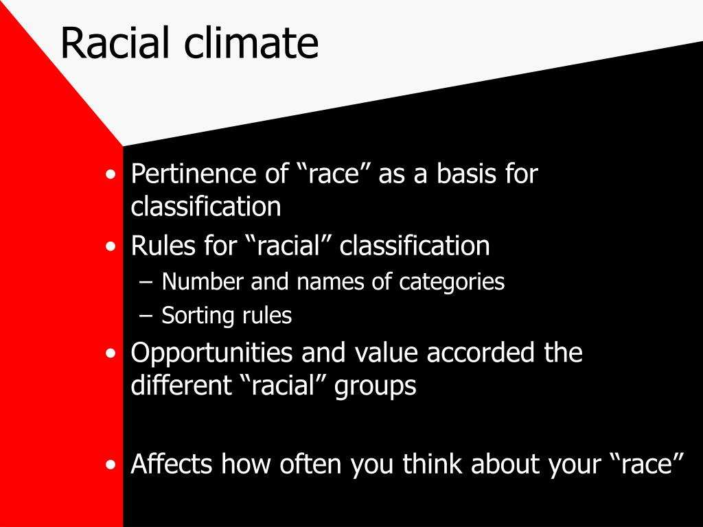 Racial climate