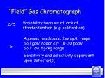 field gas chromatograph30