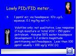 lowly pid fid meter26