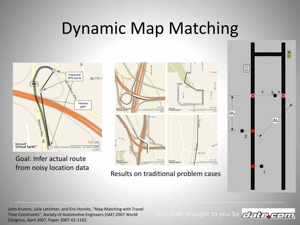 Dynamic Map Matching
