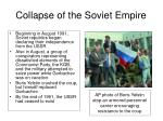 collapse of the soviet empire1