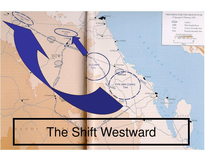 The Shift Westward