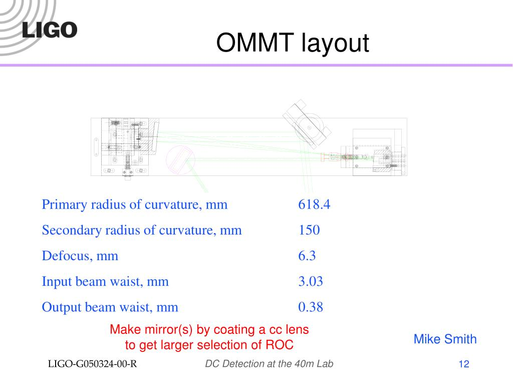 OMMT layout