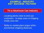 example industry key success factors49