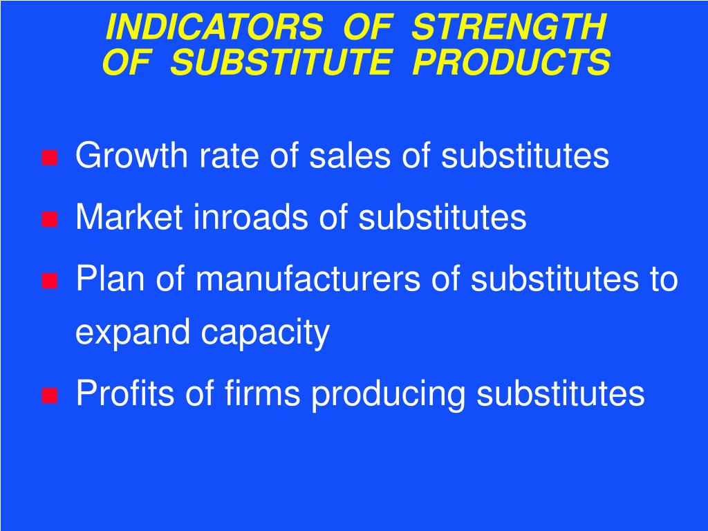 INDICATORS  OF  STRENGTH