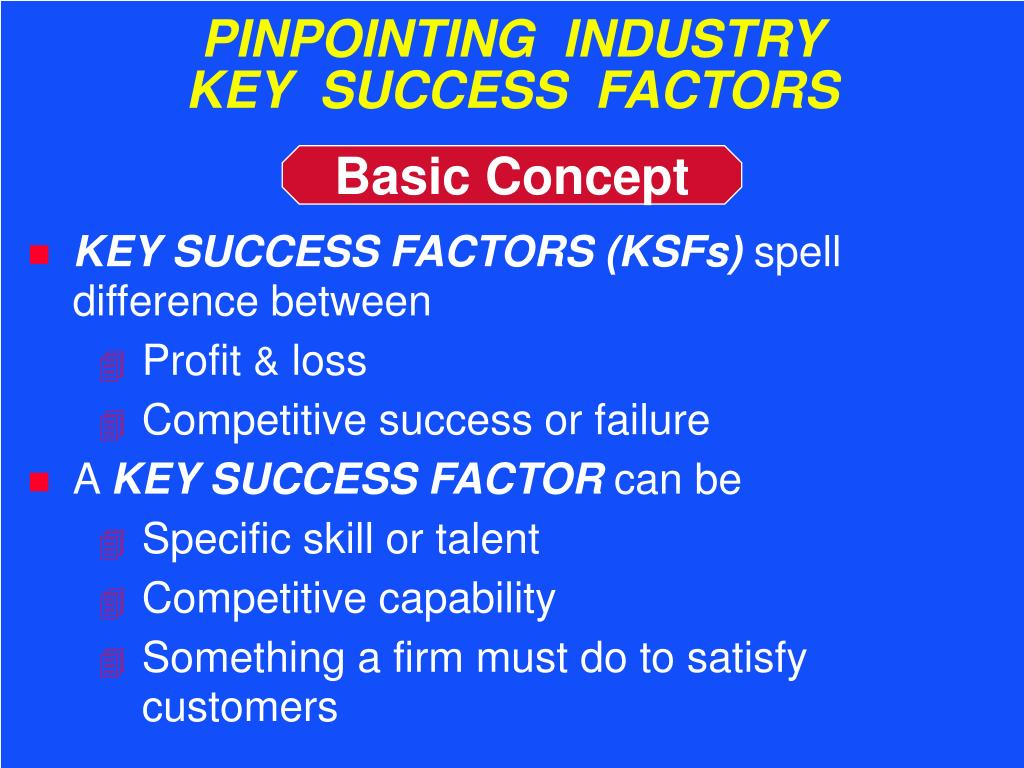 PINPOINTING  INDUSTRY