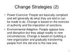 change strategies 2