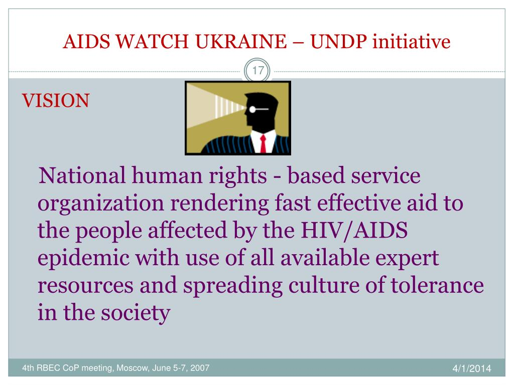 AIDS WATCH UKRAINE – UNDP initiative