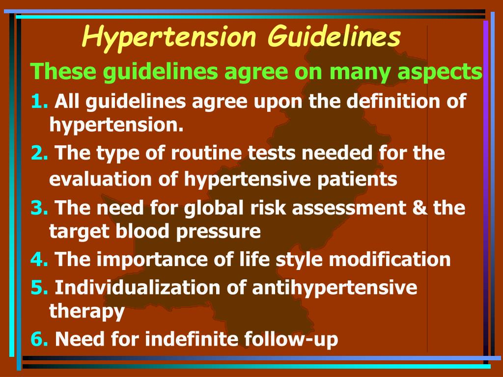 Hypertension Guidelines