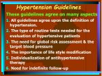 hypertension guidelines19