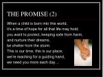 the promise 2