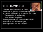 the promise 3