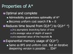 properties of a