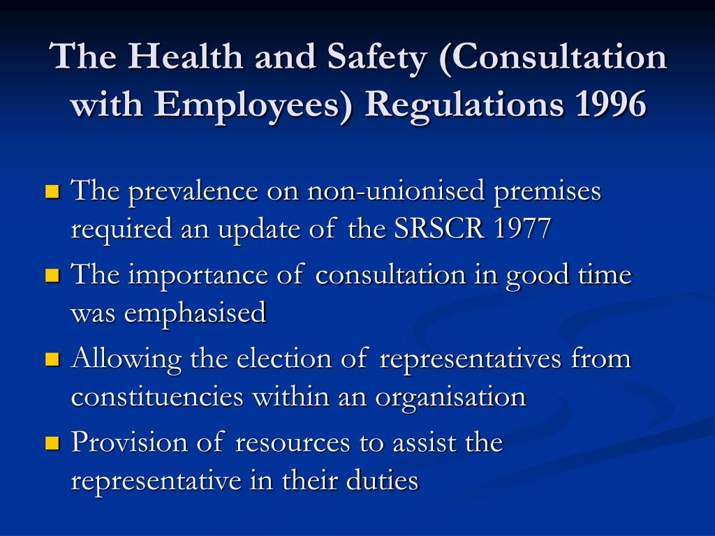 identify employer and employee responsibilities for health safety and security This reflects the fact that for good safety management it is essential for the employer and employees to work together an employee  employer on health and safety.