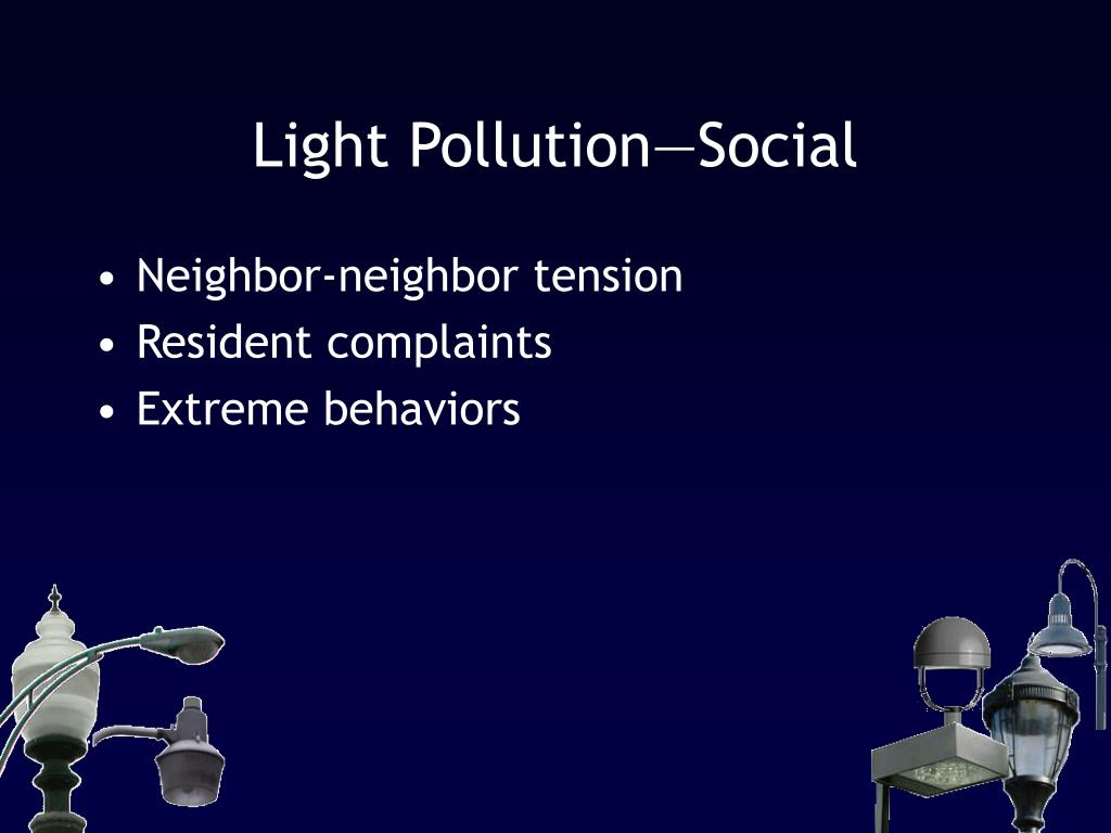 Light Pollution—Social