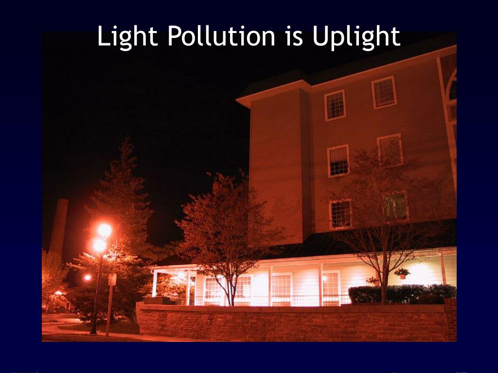 Light Pollution is Uplight