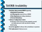 telorb availability