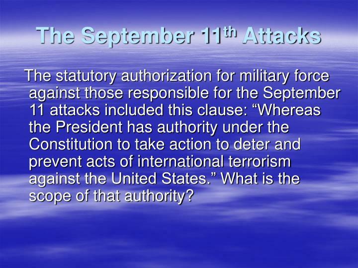 The September 11