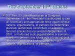 the september 11 th attacks1