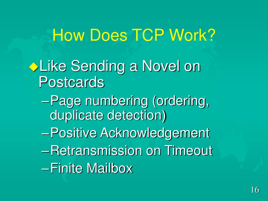 How Does TCP Work?