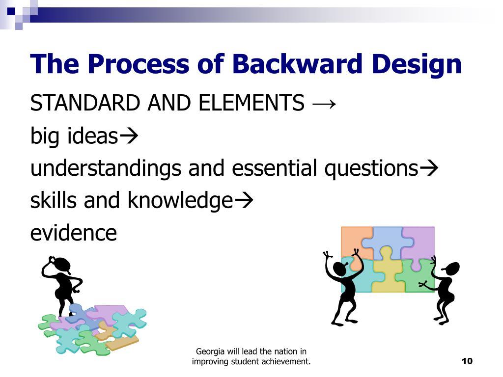 The Process of Backward Design