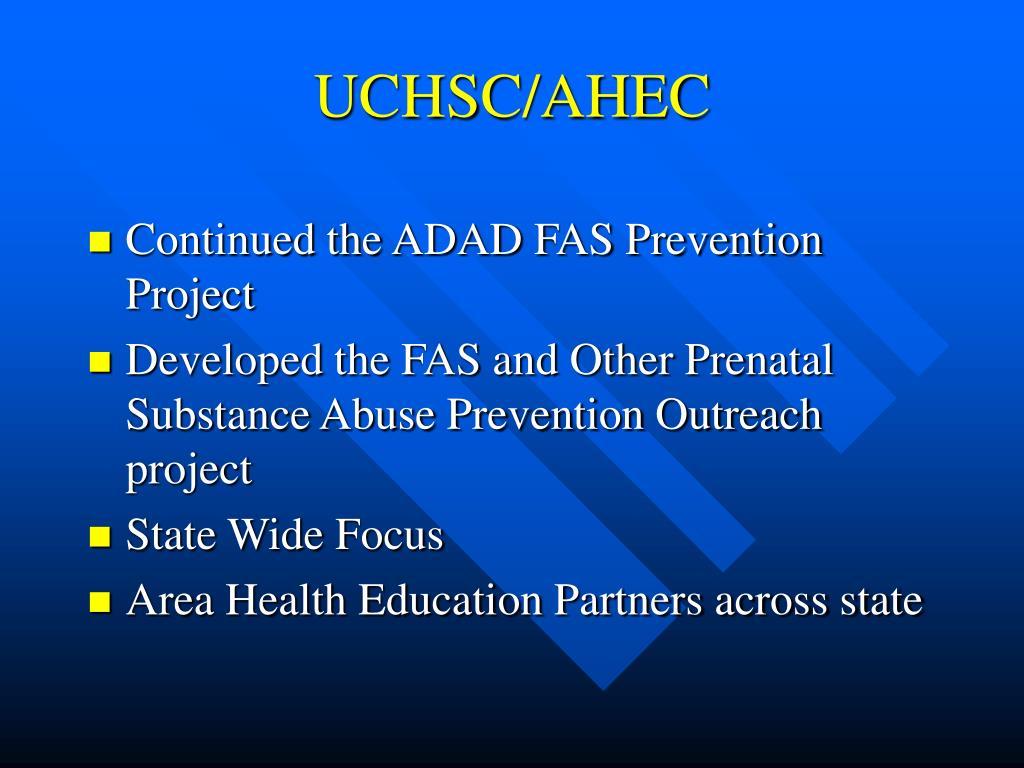 UCHSC/AHEC