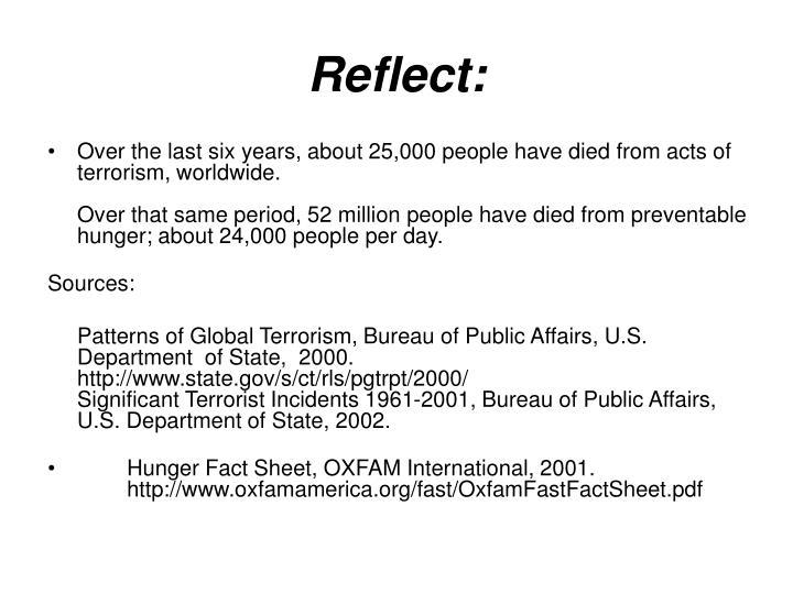 Reflect: