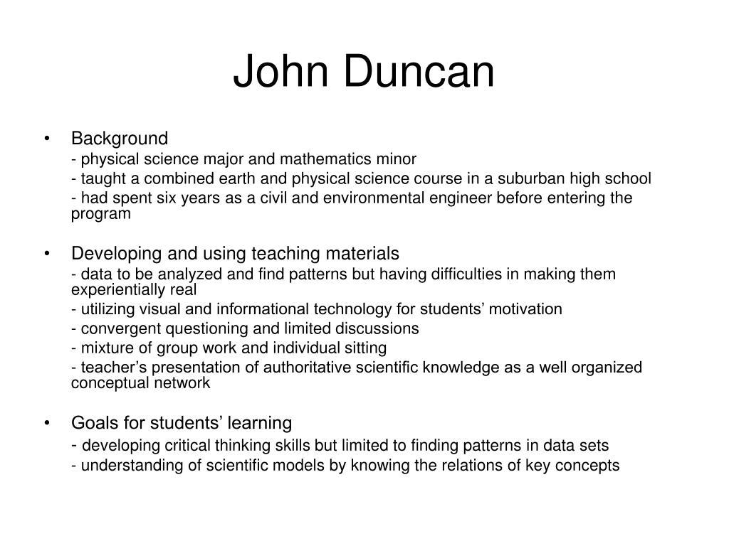 John Duncan