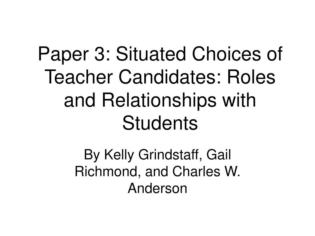Paper 3: