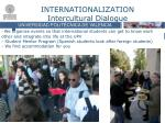 internationalization intercultural dialogue