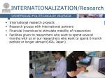 internationalization research