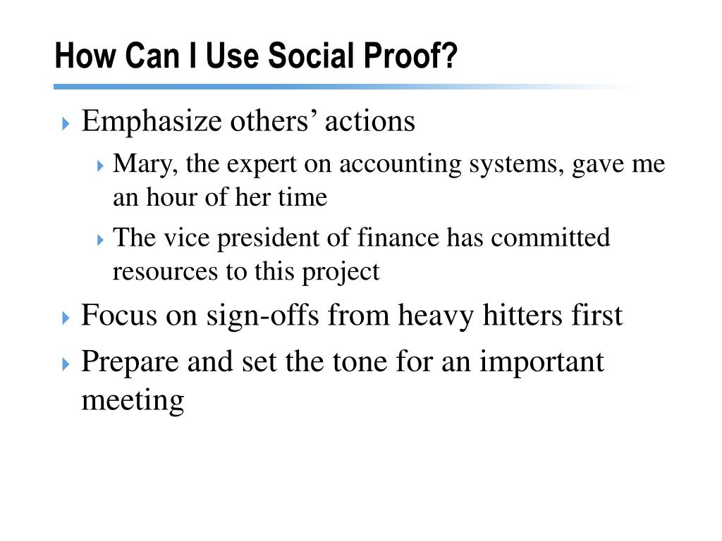 How Can I Use Social Proof?