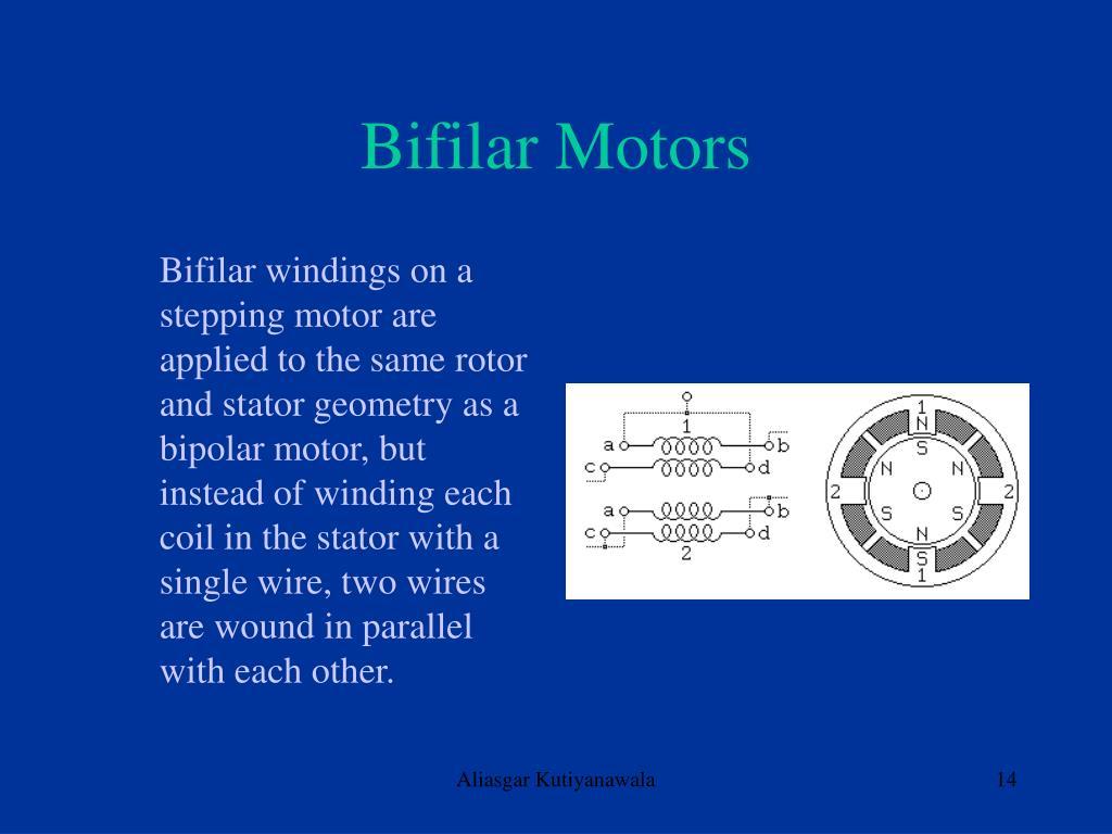 Bifilar Motors