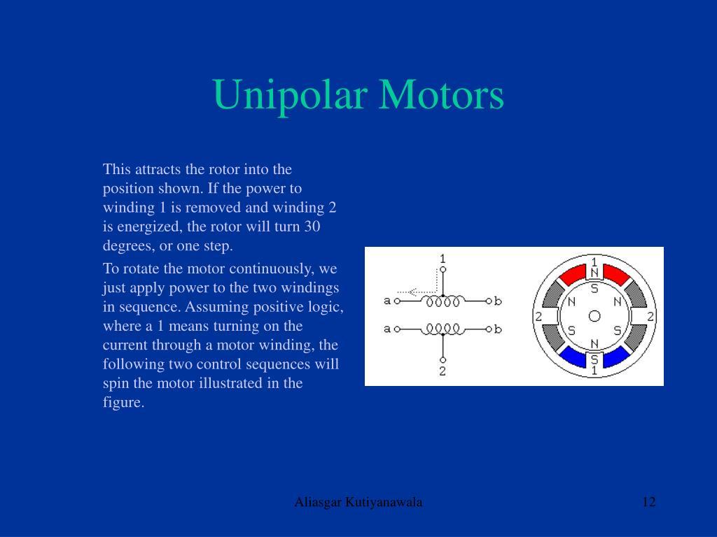 Unipolar Motors