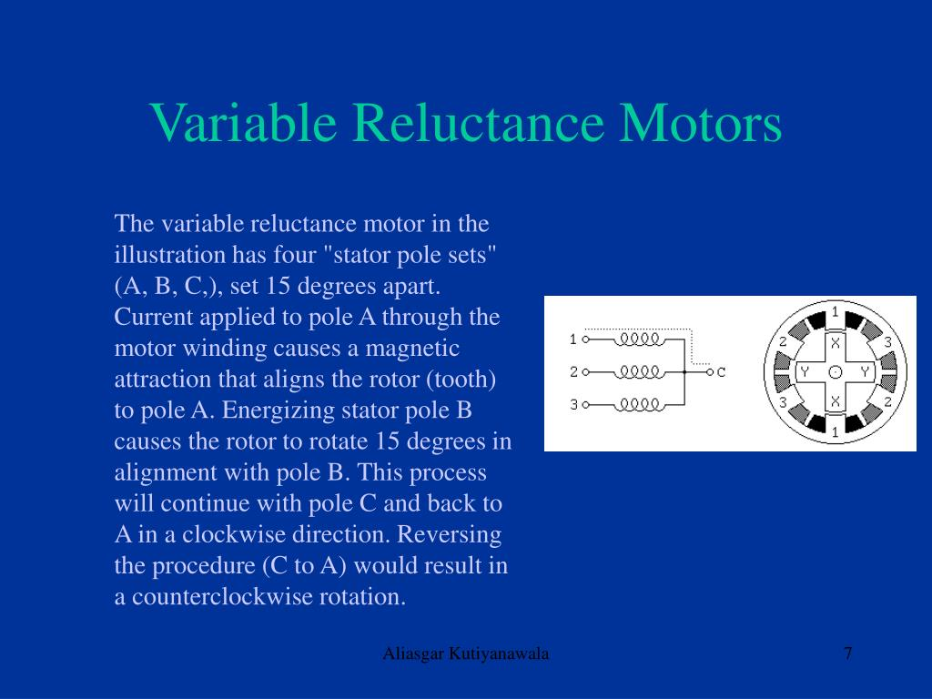 Variable Reluctance Motors