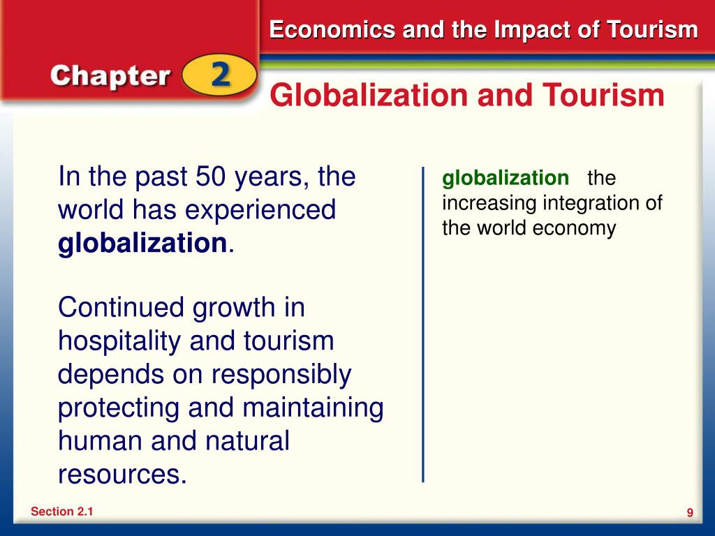 Globalization and Tourism
