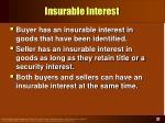 insurable interest