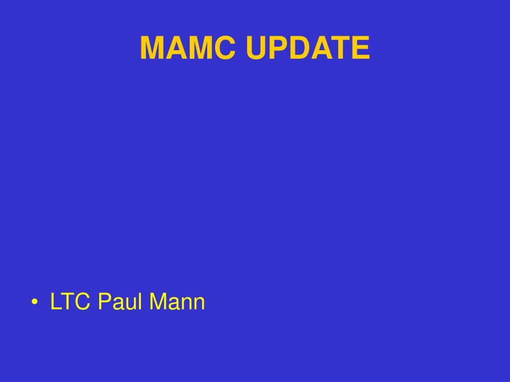 mamc update