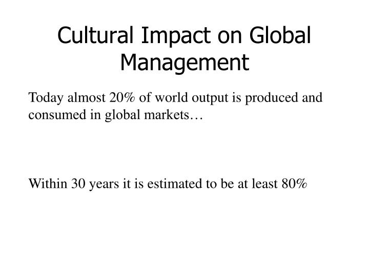 is cultural impact