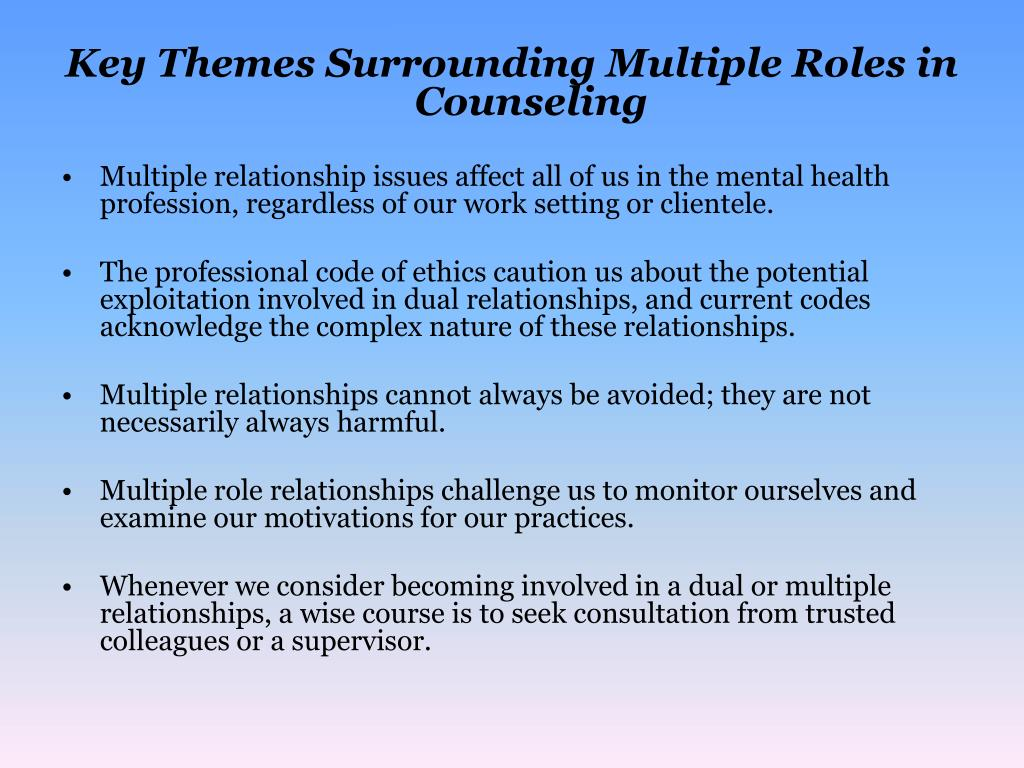 dual relationships and boundaries Boundaries are among the most problematic and challenging boundary reamer / boundary issues in social work: managing dual relationships 123.
