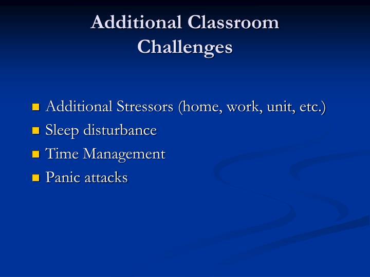 Additional Classroom