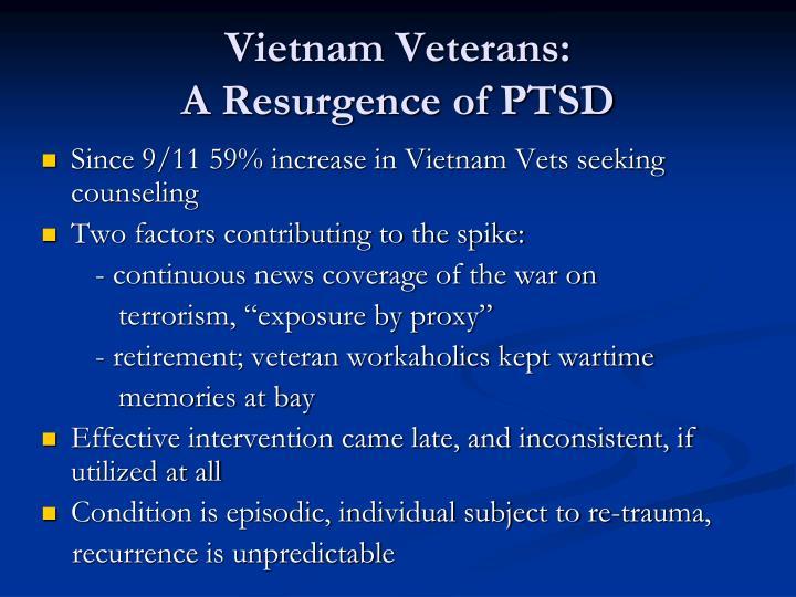 Vietnam Veterans:
