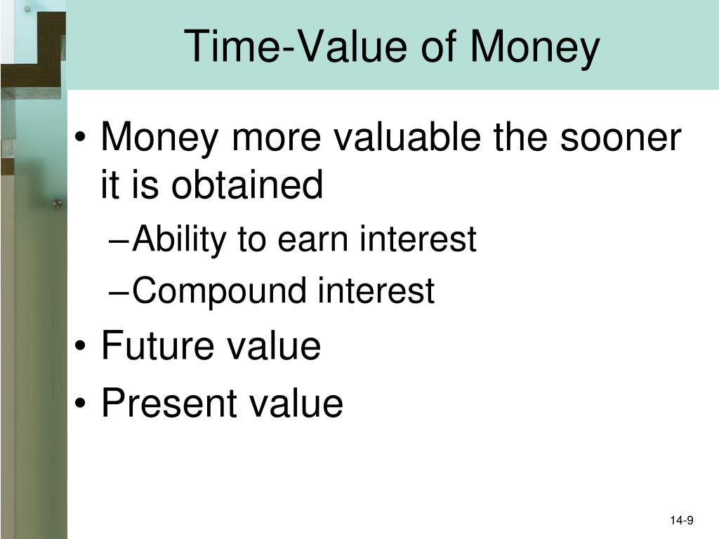 Time-Value of Money
