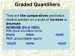 graded quantifiers