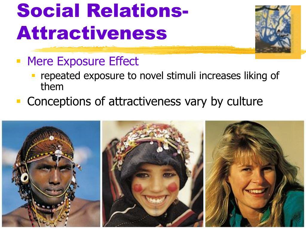 Social Relations-  Attractiveness