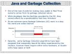 java and garbage collection
